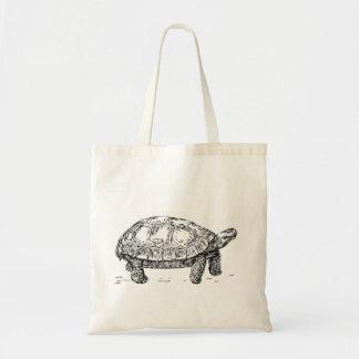 Bolsa Tote Sacola da tartaruga da tartaruga