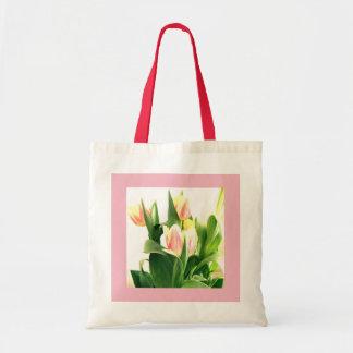 Bolsa Tote Sacola da tulipa