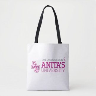 Bolsa Tote Sacola da universidade de Anita