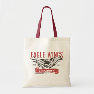 Bolsa Tote Sacola das asas de Eagle da loja do fechamento