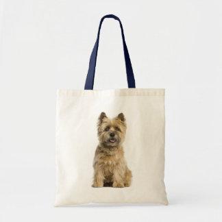 Bolsa Tote Sacola das canvas do cão de filhote de cachorro de