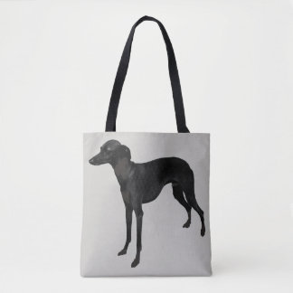 Bolsa Tote Sacola das canvas do galgo italiano