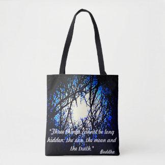 Bolsa Tote Sacola das citações de Buddha