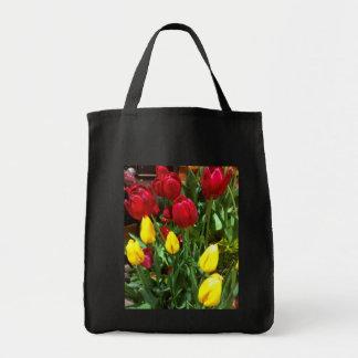 Bolsa Tote Sacola das tulipas