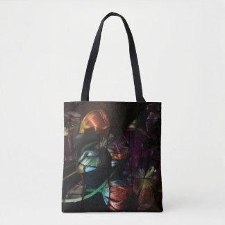 Bolsa Tote Sacola das tulipas do pop art