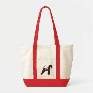 Bolsa Tote Sacola de Airedale Terrier BFF