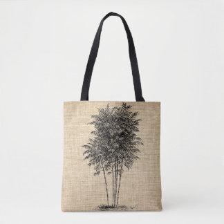 Bolsa Tote Sacola de bambu da árvore
