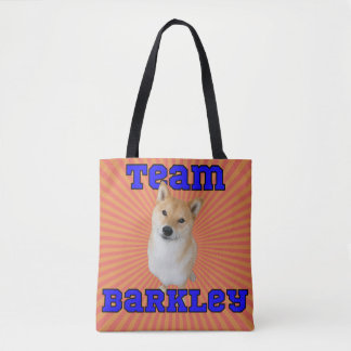 Bolsa Tote Sacola de Barkley da equipe