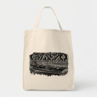Bolsa Tote Sacola de Carl Vinson do porta-aviões