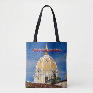 Bolsa Tote Sacola de Cartagena da catedral de San Pedro