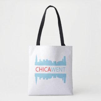 Bolsa Tote Sacola de Chicago - I CHICA-WENT