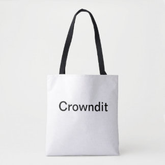 Bolsa Tote Sacola de Crowndit