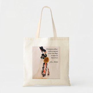 Bolsa Tote Sacola de Jane Austen