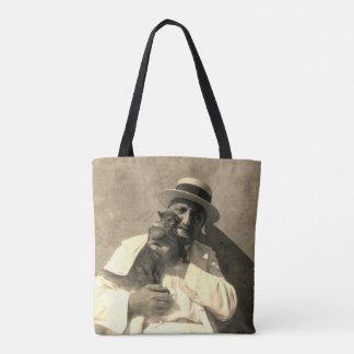 Bolsa Tote sacola de Kinkajou do homem & do animal de