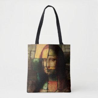 Bolsa Tote Sacola de Mona Lisa do pop art