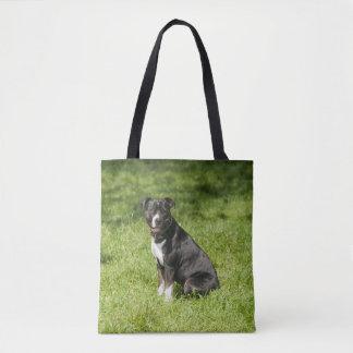 Bolsa Tote Sacola de Staffordshire bull terrier