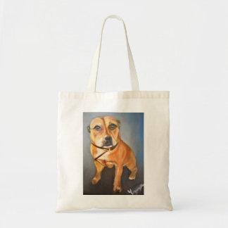 Bolsa Tote Sacola de Staffordshire bull terrier do inglês