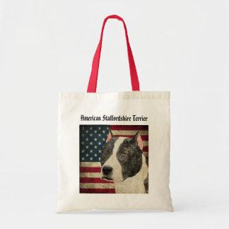 Bolsa Tote Sacola de Staffordshire Terrier americano