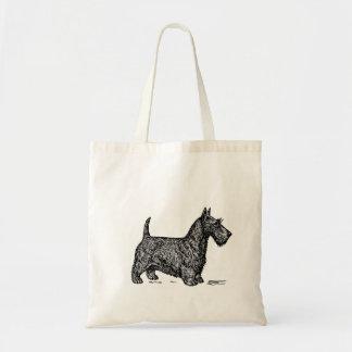 Bolsa Tote Sacola de Terrier do Scottish
