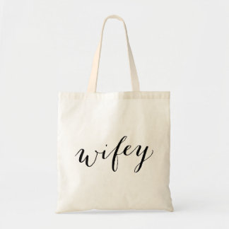Bolsa Tote Sacola de Wifey