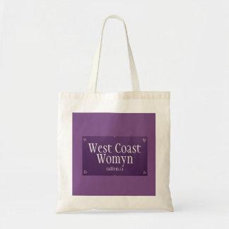Bolsa Tote Sacola de Womyn da costa oeste