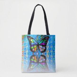Bolsa Tote Sacola: Design da borboleta