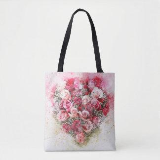 Bolsa Tote Sacola: Design floral