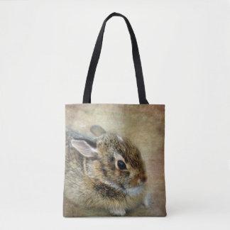 Bolsa Tote Sacola distorcido do coelho