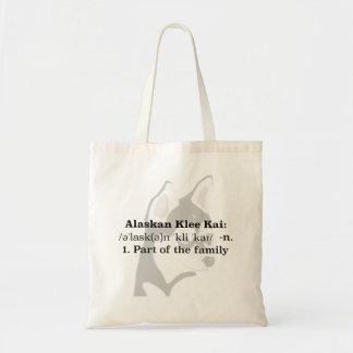 Bolsa Tote Sacola do Alasca de Klee Kai