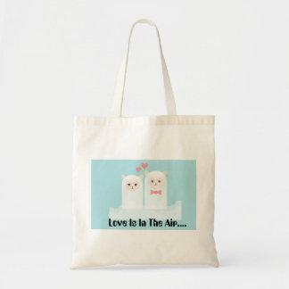 Bolsa Tote Sacola do amor da alpaca