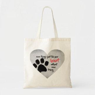 Bolsa Tote Sacola do amor do cão