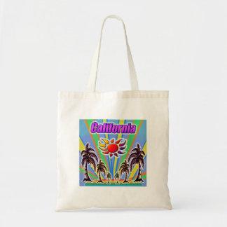 Bolsa Tote Sacola do amor do verão de Califórnia