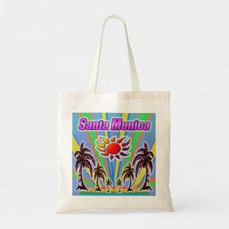 Bolsa Tote Sacola do amor do verão de Santa Monica