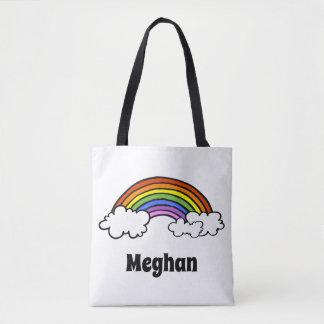 Bolsa Tote Sacola do arco-íris