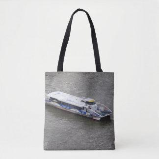Bolsa Tote Sacola do barco do cruzeiro de Londres Tamisa