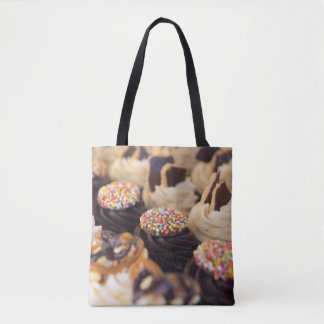 Bolsa Tote Sacola do bolo de chocolate