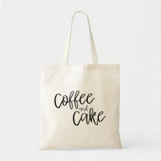 Bolsa Tote Sacola do café e do bolo