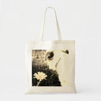 Bolsa Tote Sacola do cão e da flor
