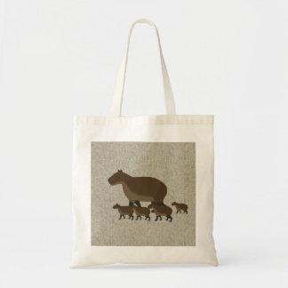 Bolsa Tote Sacola do Capybara