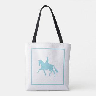 Bolsa Tote Sacola do cavalo do adestramento