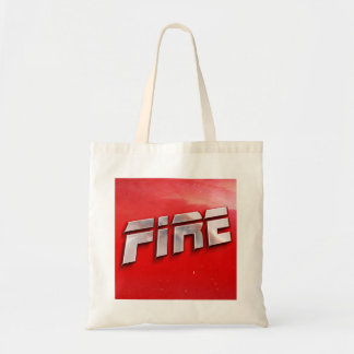 Bolsa Tote Sacola do cobrir do álbum do fogo
