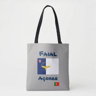 Bolsa Tote Sacola do costume de Faial Açores