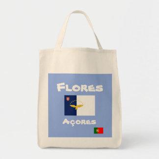Bolsa Tote Sacola do costume de Flores Açores