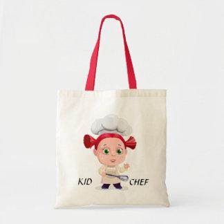 Bolsa Tote Sacola do cozinheiro chefe do miúdo