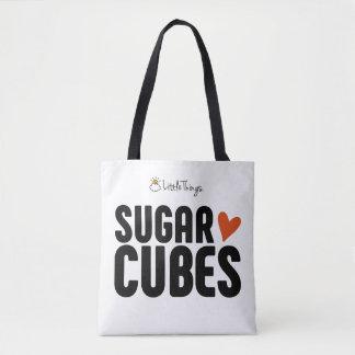 Bolsa Tote Sacola do cubo do açúcar com o bebê do cubo do