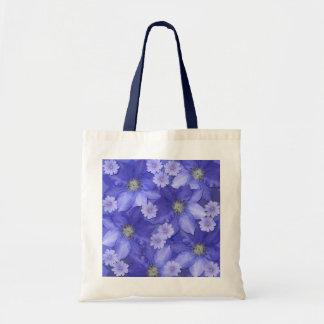 Bolsa Tote Sacola do design floral