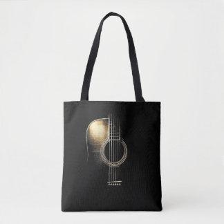 """Bolsa Tote Sacola do """"destaque"""" da guitarra acústica"""