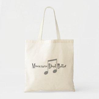 Bolsa Tote Sacola do dueto (notas)