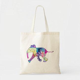 Bolsa Tote Sacola do elefante do bebê