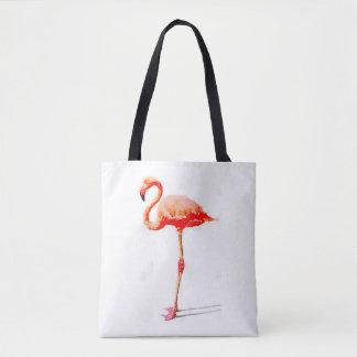Bolsa Tote Sacola do flamingo das mulheres